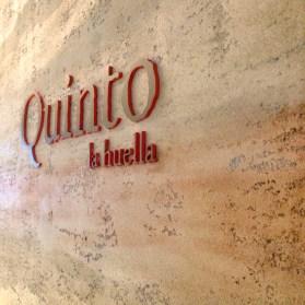 Quinto La Huella Sign
