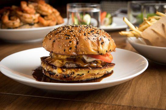 The Rez Grill - The Rez Burger