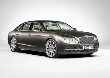 Bentley Flying Spur / Deloma od strani