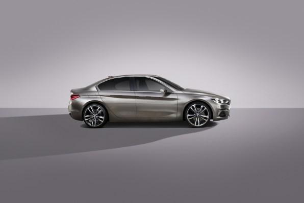BMW Compact Sedan - predhodnik BMW limuzine serije 1
