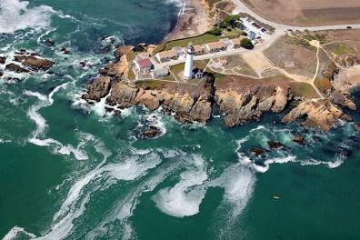 Hostel Pigeon Point Lighthouse, Pescadero, Kalifornija, ZDA