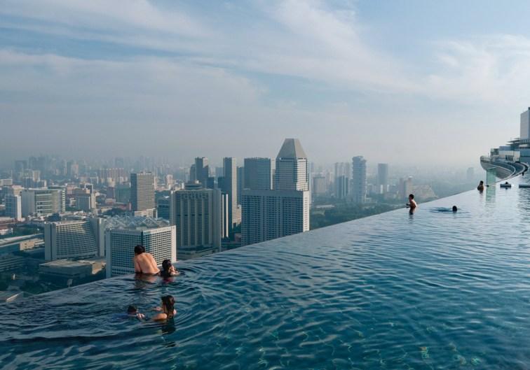 Marina Bay Sands Resort Infinity Pool, Singapur