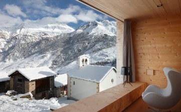 Zumthor Vacation House, Leis, Švica