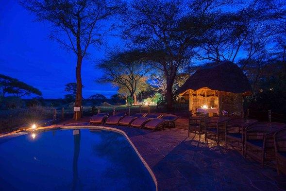Sanctuary Swala Pool, Tanzanija