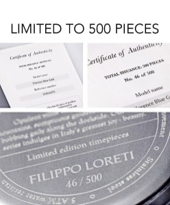 Filippo Loreti: luksuzne ročne ure