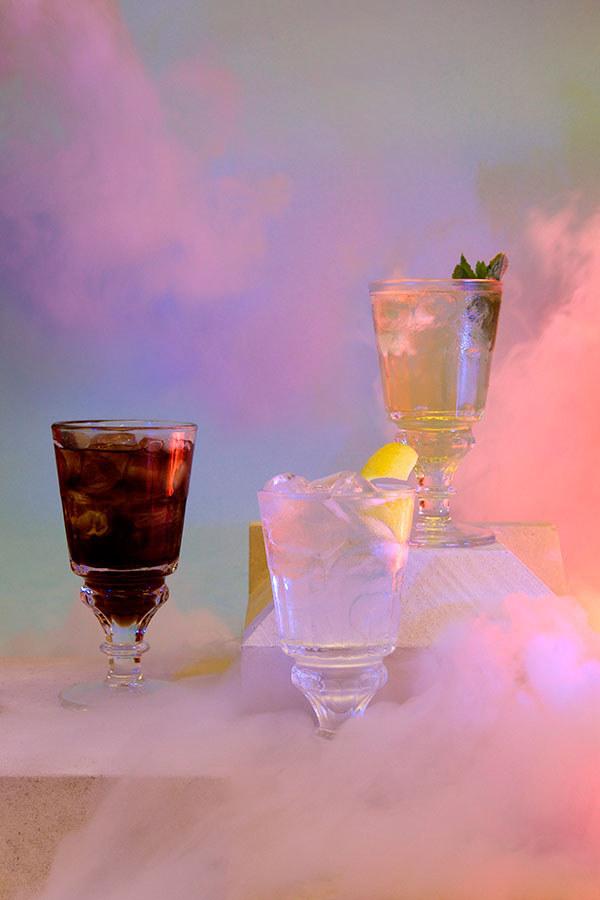 Bar, kjer alkohol vdihavate