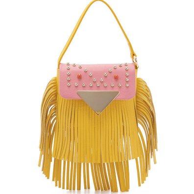 Sara Battaglia 'Cutie' Crossbody Fringe Bag