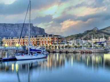 Cape Town in hotel Cape Grace