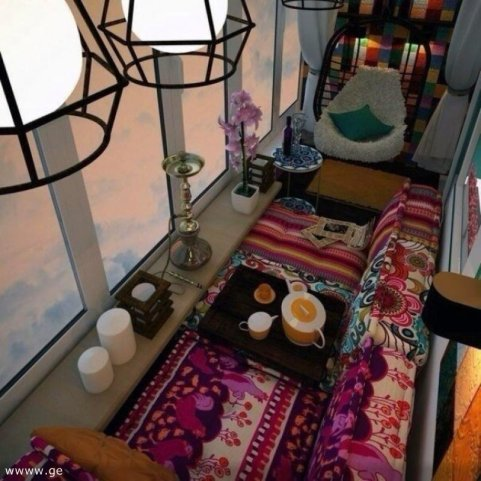 Balkon kot življenjski prostor