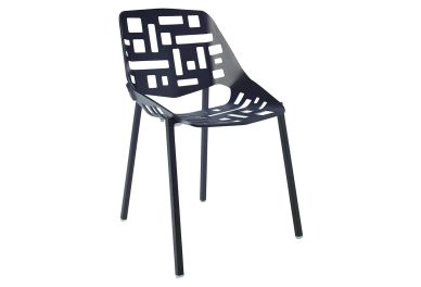 Flores Side Chair, Black (onekingslane.com, okoli 300 evrov)