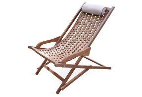 Eucalyptus Outdoor Swing Lounger (onekingslane.com, okoli 170 evrov)