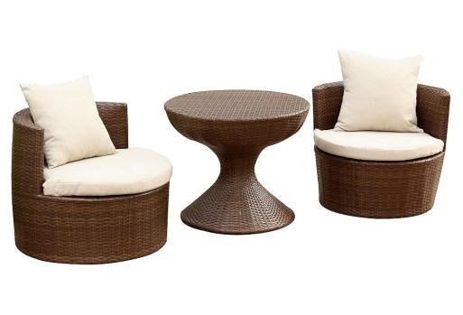 Emerie 3-Pc Outdoor Chair Set (onekingslane.com, cena okoli 400 evrov)