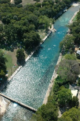Austin, Teksas, ZDA: Barton Springs Pool