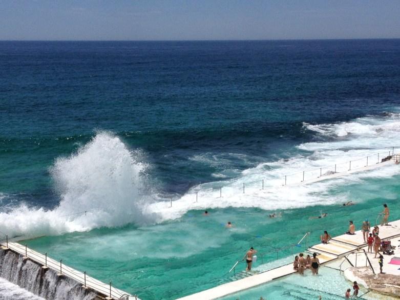 Sydney, Avstralija: Bondi Baths, Bondi Icebergs