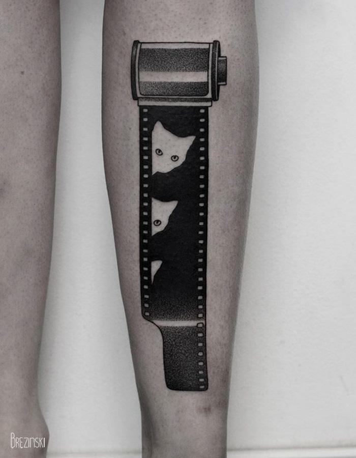 Nadrealistični tatuji beloruskega umetnika Ilye Brezinskega