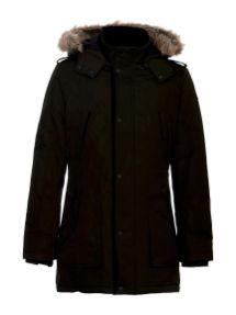 topla jakna s kamuflažnim vzorcem