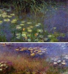 Claude Monet, Vodne lilije (1926)