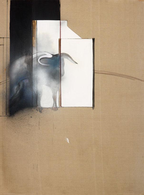 Francis Bacon, študija bika (1991)