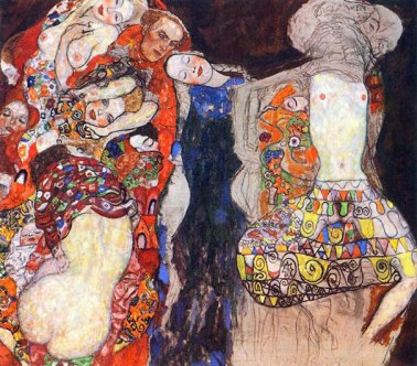 Gustav Klimt, Nevesta (1918)