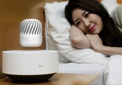 Lebdeči Bluetooth zvočnik LG PJ9