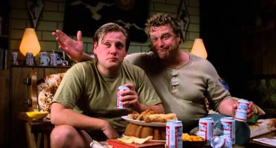 Gale Snoats (John Goodman) in Evelle Snoats (William Forsythe) v filmu Raising Arizona (Arizona Junior, 1987)