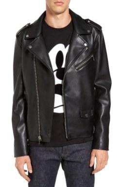 Punk ni mrtev: Black Rivet, motoristična jakna iz umetnega usnja, 170,77 €