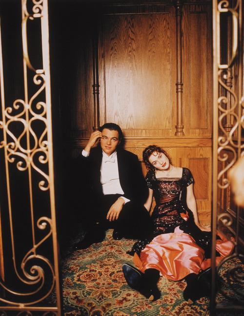 Titanic (Titanik, 1997): Leonardo DiCaprio in Kate Winslet