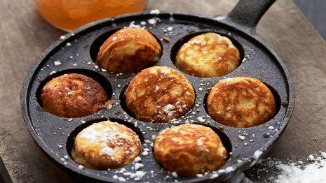 Danske palačinke æbleskiver
