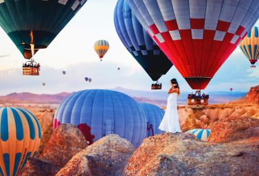 Pravljična Kapadokija v Turčiji