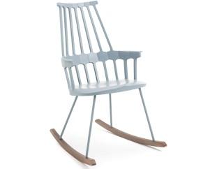 Top 10 modernih gugalnikov, ki so videti odlično v vsakem prostoru: Comback Rocking Chair by Patricia Urquiola for Kartell
