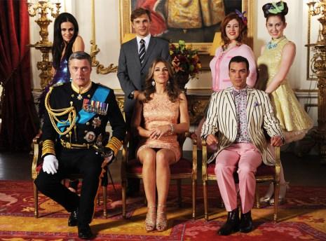 Najbolj seksi televizijska zasedba: The Royals