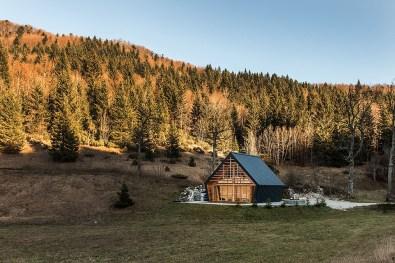 Studio Pikaplus – planinska lesena hiška