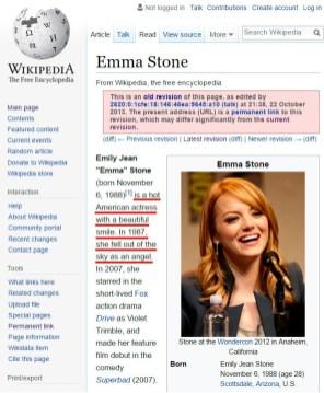 Emma Stone je vroča igralka s čudovitim nasmehom. Leta 1987 je padla z neba.