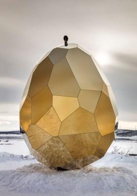 Savna v obliki jajca