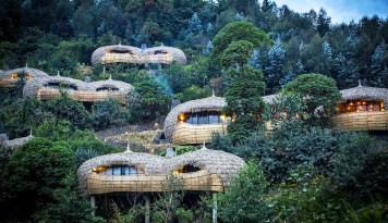 Bisate Lodge: luksuzne vile v Ruandi
