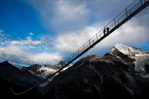 Charles Kuonen: najdaljši viseči most na svetu (Švica)