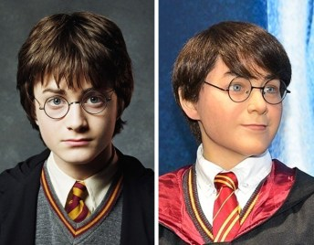 Harry Potter v Madame Tussauds v Hollywoodu