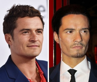 Orlando Bloom v Madame Tussauds v Londonu