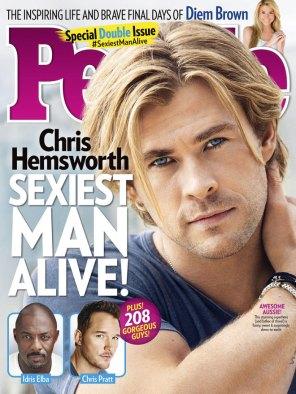 2014, Chris Hemsworth