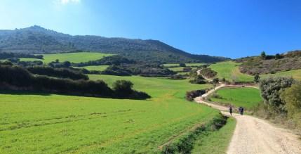 Jakobova pot, Španija