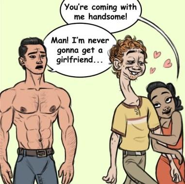 Ljudje, flirtajo kot živali