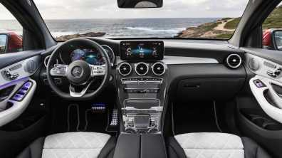 Notranjost Mercedes-Benz GLC