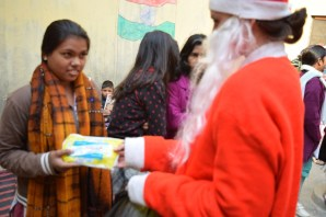 Sanitary Pad distribution to Girls 2