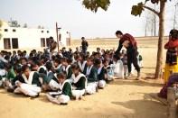 Wash & Education Supplies Distributed In Bhatipura Villages Schools ,Meerut District ,Uttar Pradesh 9