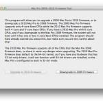 Mac Pro 2009-2010 Firmware ToolScreenSnapz001