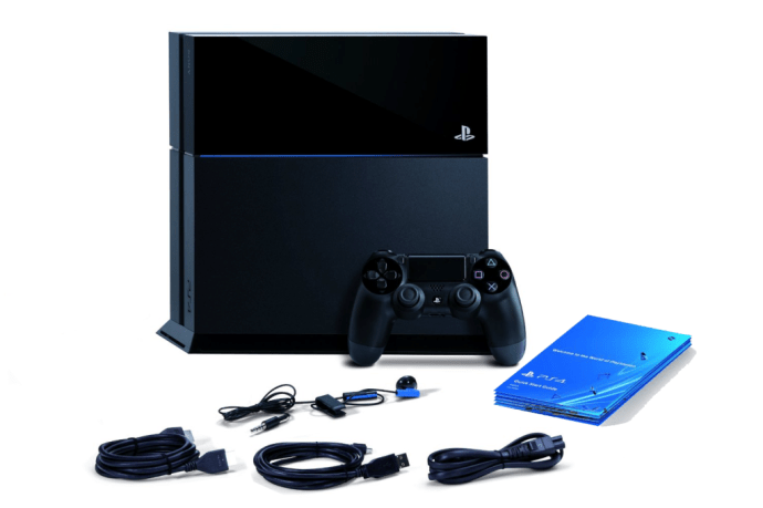 PS4 in box