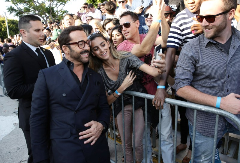 "Jeremy Piven seen at Warner Bros. Premiere of ""Entourage"" held at Regency Village Theatre on Monday, June 1, 2015, in Westwood, Calif. (Photo by Eric Charbonneau/Invision for Warner Bros./AP Images)"