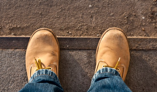 The Kinetic Comfort Heel Pads are ideal for those who work on hard concrete floors.