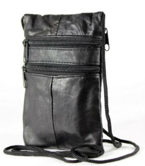 Leather Neck Bag