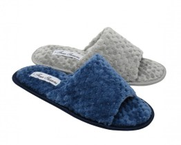 four seasons open toe slippers